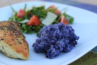 Purple Smashed Potatoes Chicken - sm